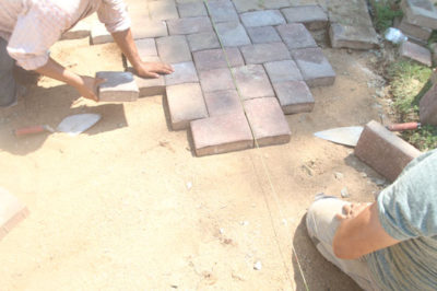 installing concrete pavers northern virginia