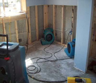 Flooded Basement Water Remediation Northern Virginia