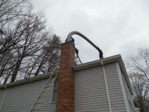 chimney stainless steel liner install northern Virginia
