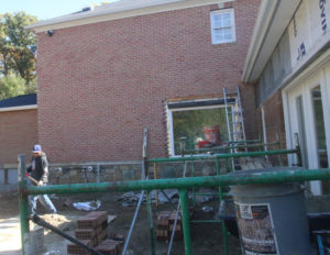 laying brick for new construction VA