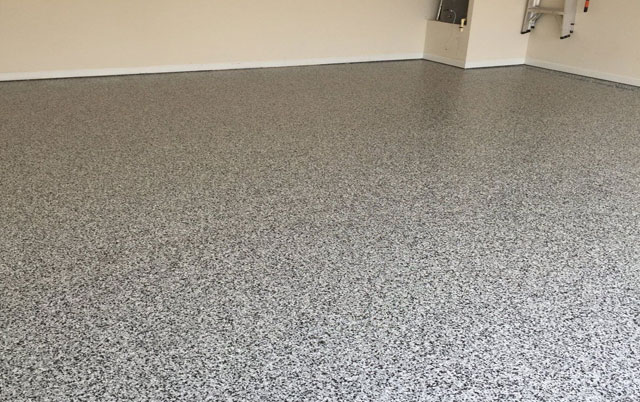 Snowflake Garage Epoxy Flooring Options