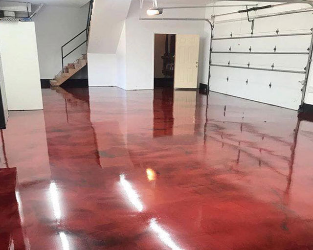 Garage Reflective Floor Contractor Northern Virginia