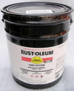 paint to be used for wrought iron rails