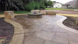 stamped concrete fairfax contractor