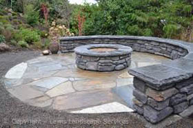 Ashburn flagstone patio va