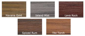 Trex select deck colors