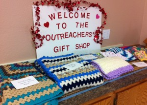 Messiah's Outreachers gift shop