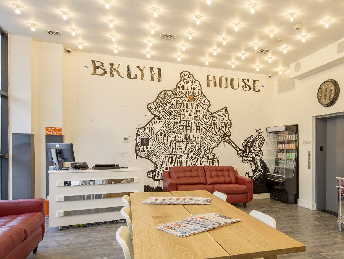 BKLYN House Hotel Bushwick Lobby