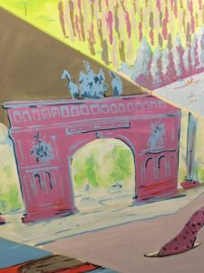 Arch Structure Mural