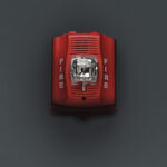 Visual, Flashing Strobe Fire Alarm