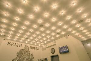 Bklyn House Lobby Ceiling Lights Feature