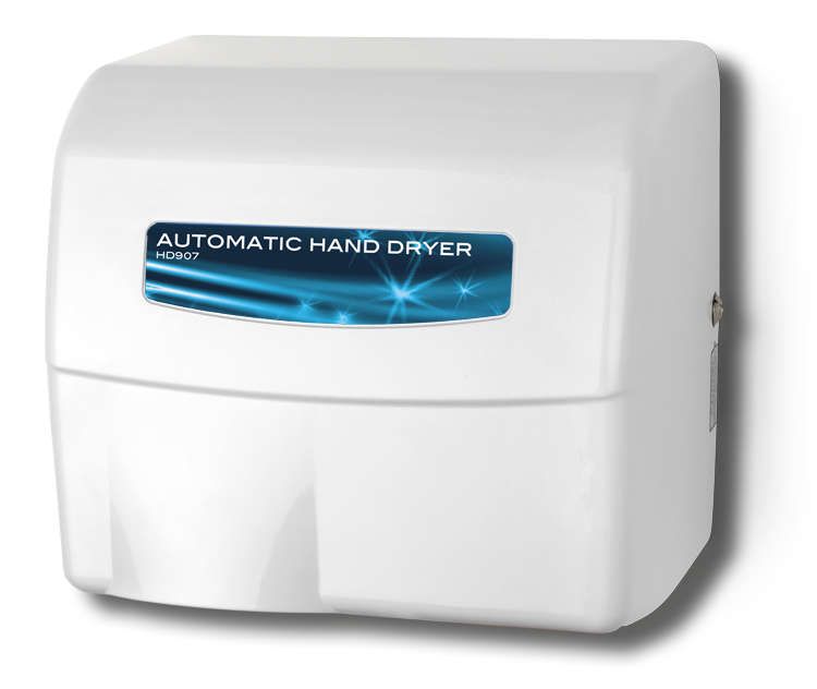 Painted Cast Aluminum Hand Dryer