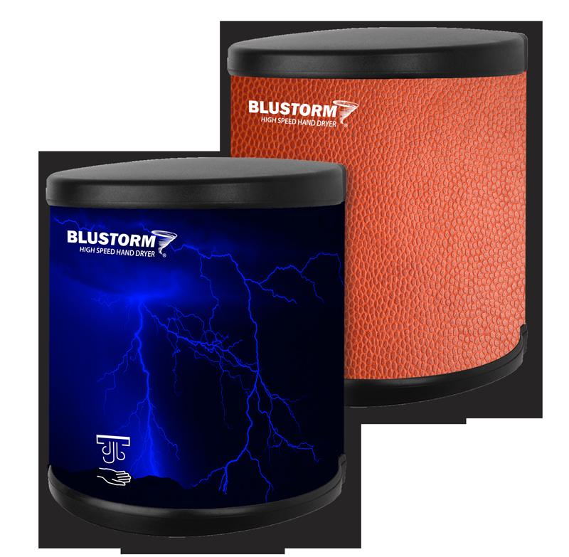 Custom BluStorm Hand Dryers