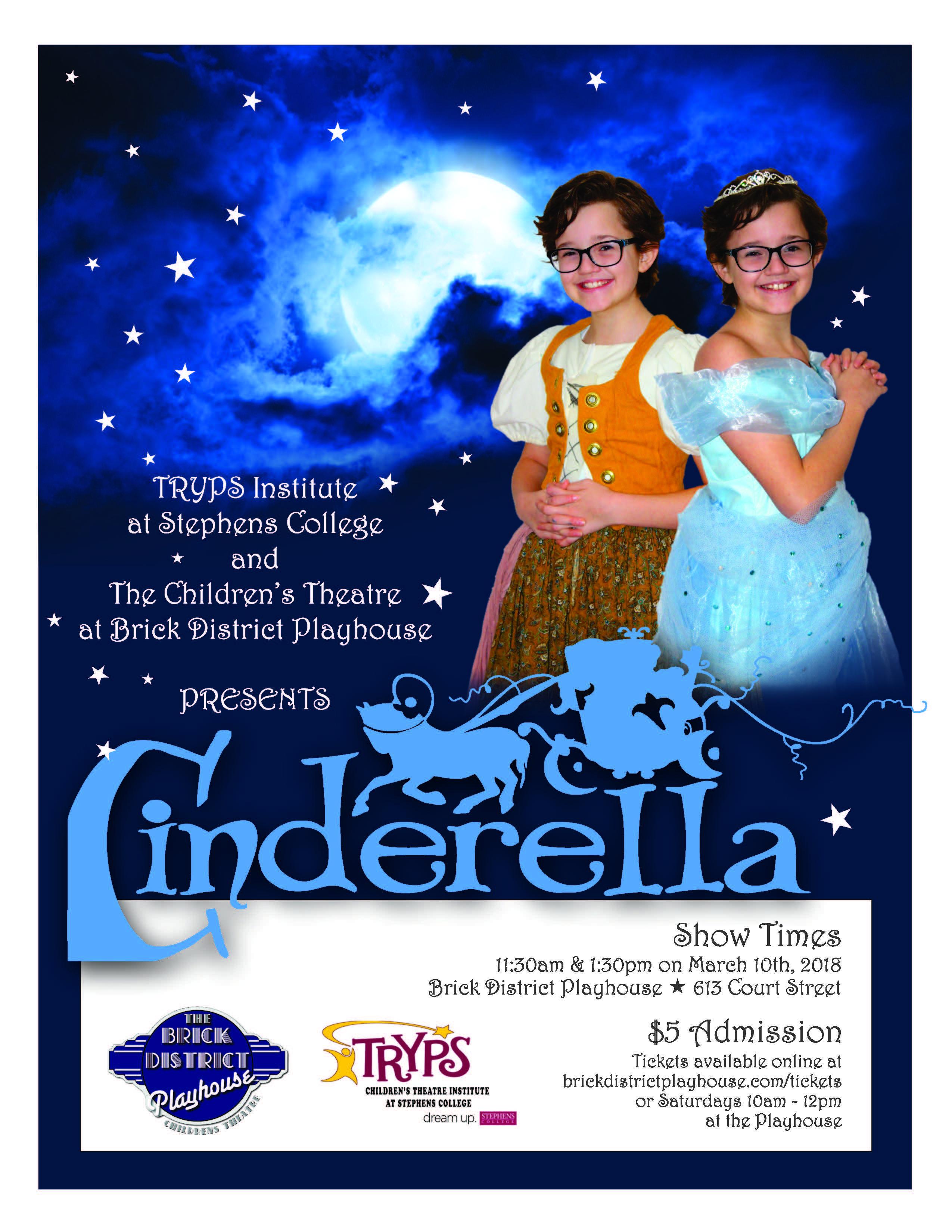 TRYPS Cinderella Poster PRINT..