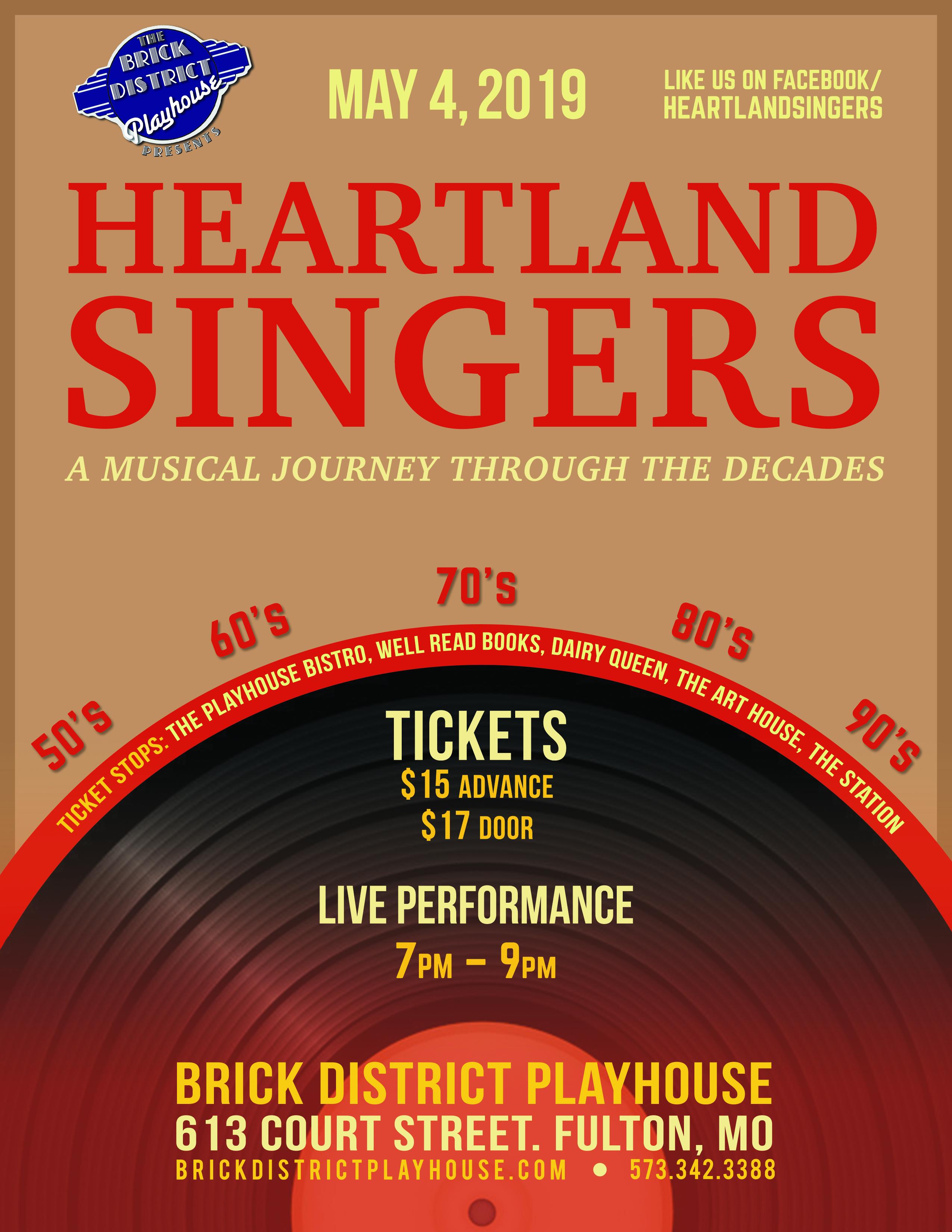 Heartland Singers Flyer