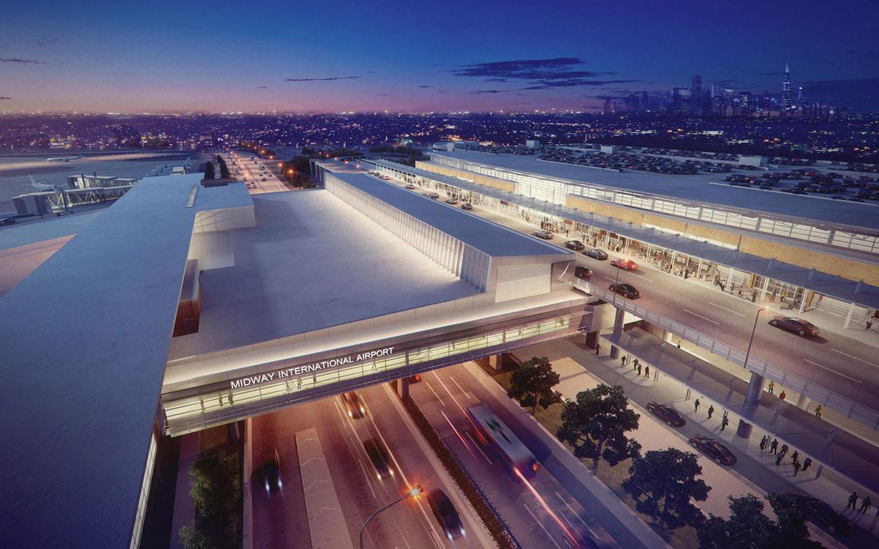 Midway Airport Parking Garage