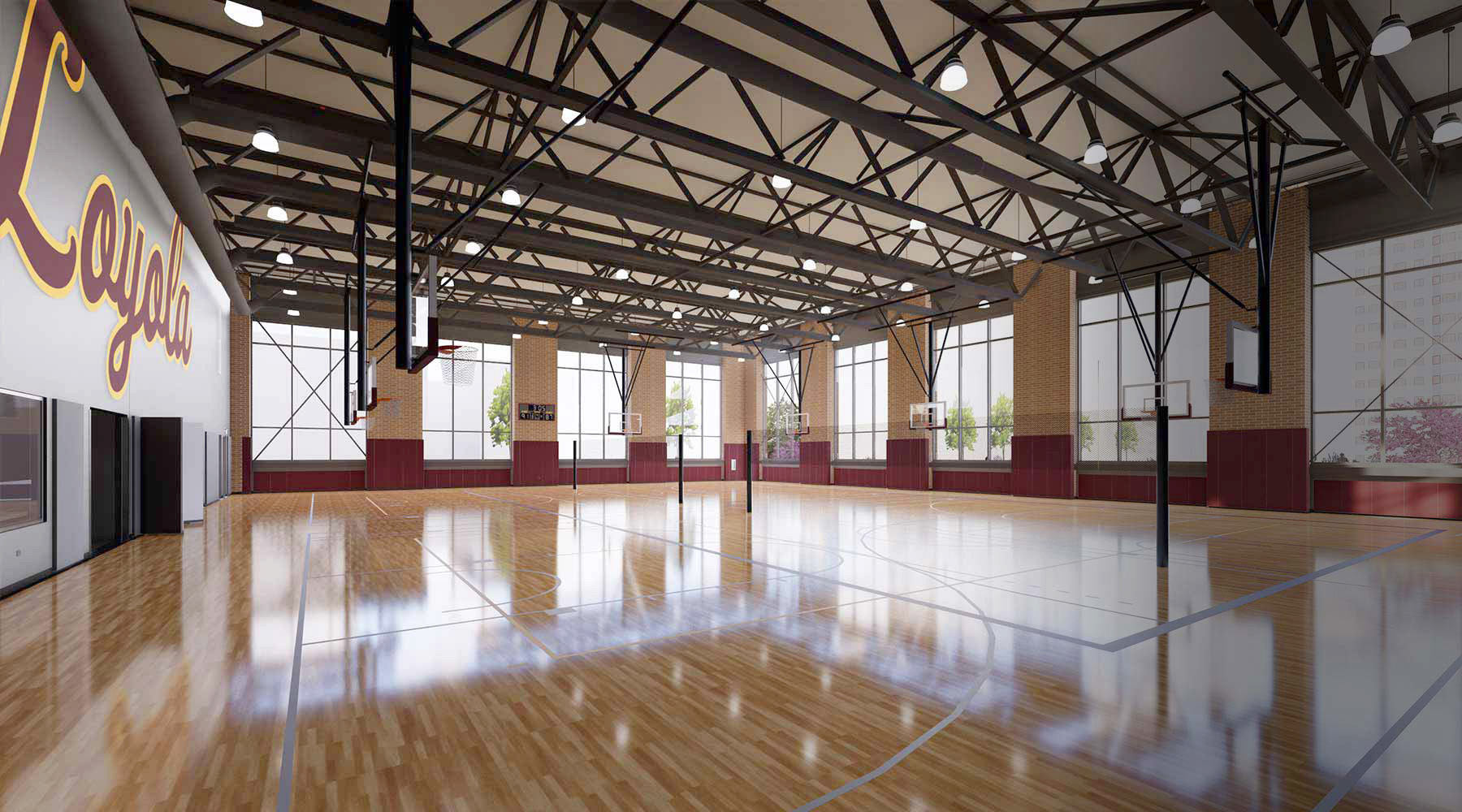The Alfie Norville Practice Facility