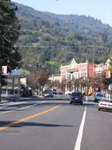 Beckwith Building in downtown Los Gatos, California