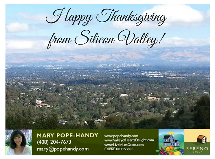 Happy Thanksgiving from Silicon Valley!