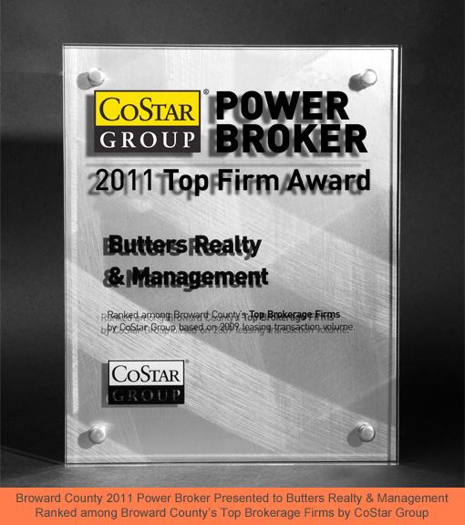 Costar Group 2011 Top Firm Award