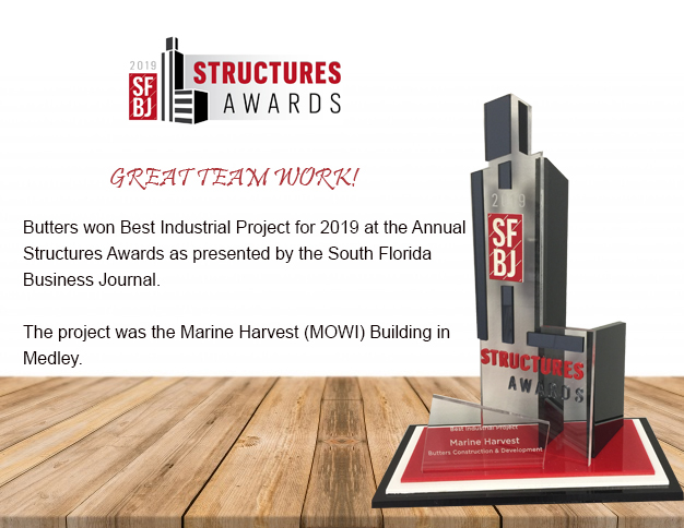 South Florida Business Journal Structure Award