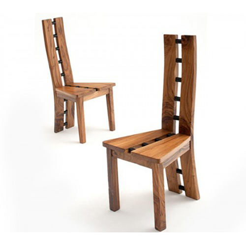 Contemporary Natural Wood Dining Chair DC06031