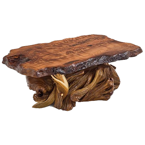 Rustic Furniture Redwood and Juniper Coffee Table CT03086
