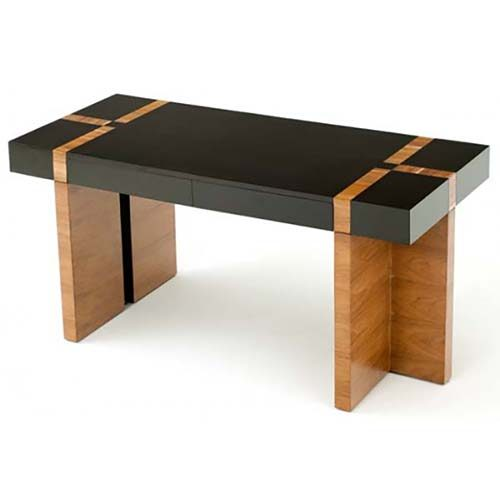 Urban Rustic Wood Desk woth 2 Drawers OF07324