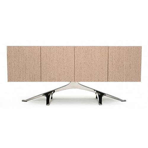 Modern Sideboard with Stainless Steel Base SB04090