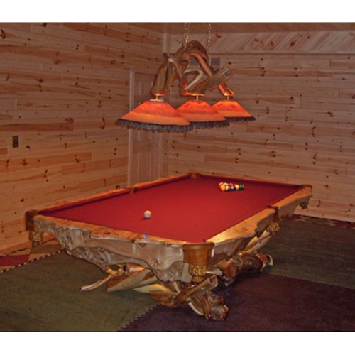Artistic Log Pool Table PG1200