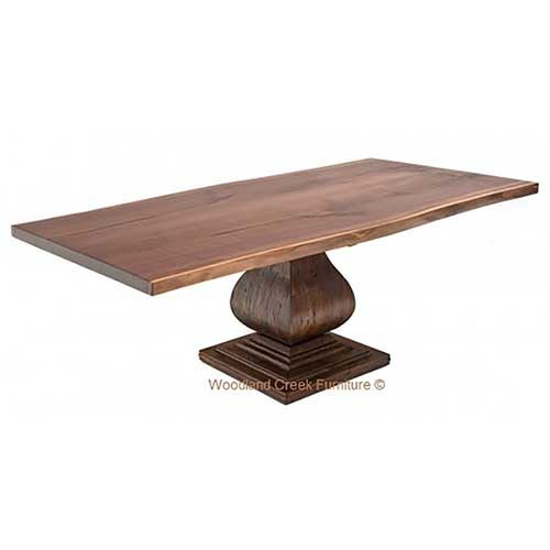 Slab Table with Refined Base DT00708