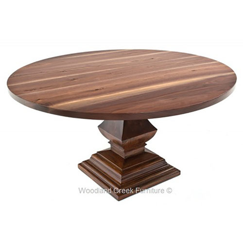 Round Tuscan Slab Dining Table DT00710