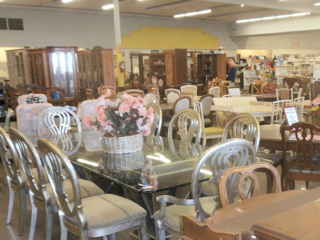 Variety of furniture and Homegoods