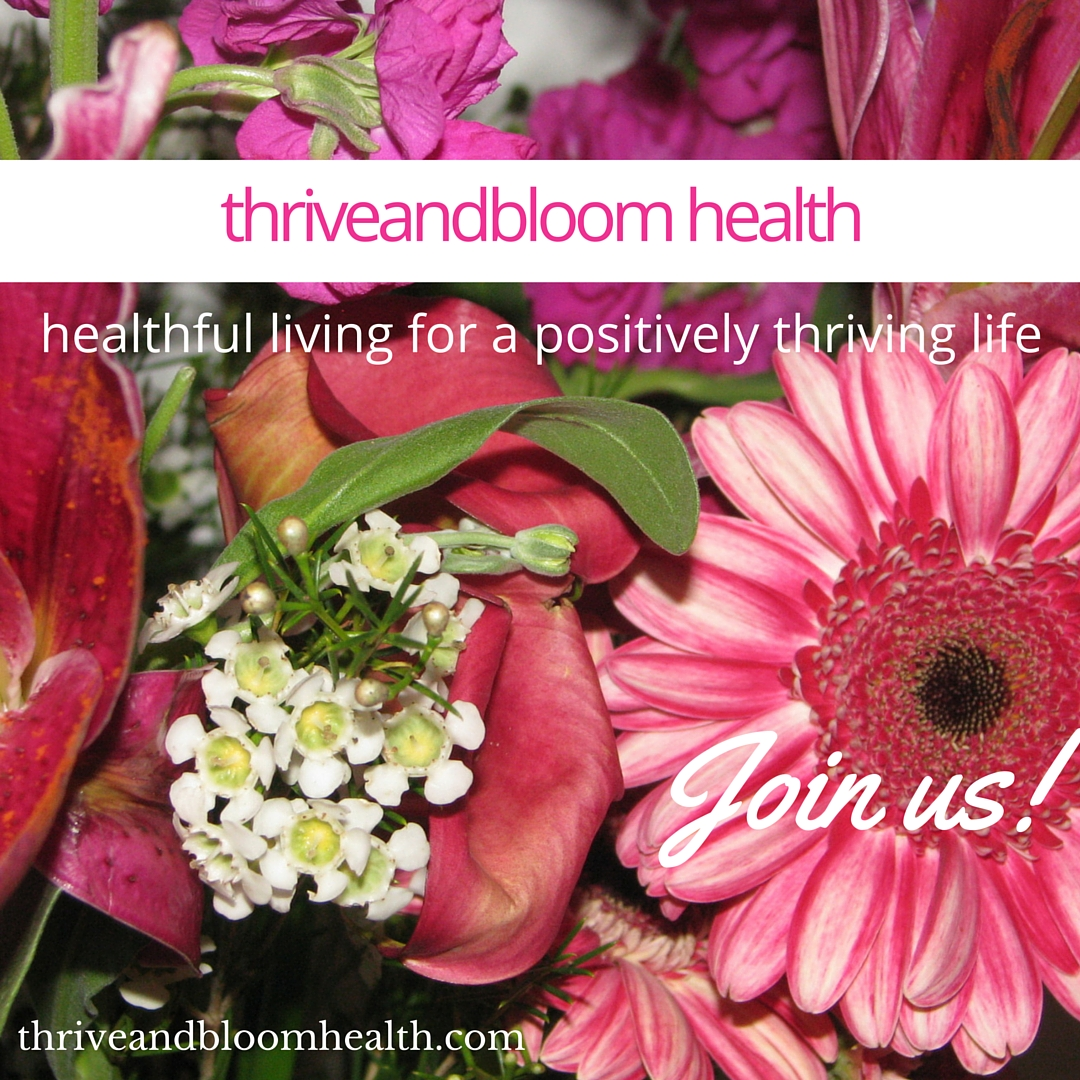 ~~~ Thriveandbloom Health ~~~ (supplements for a thriving life)