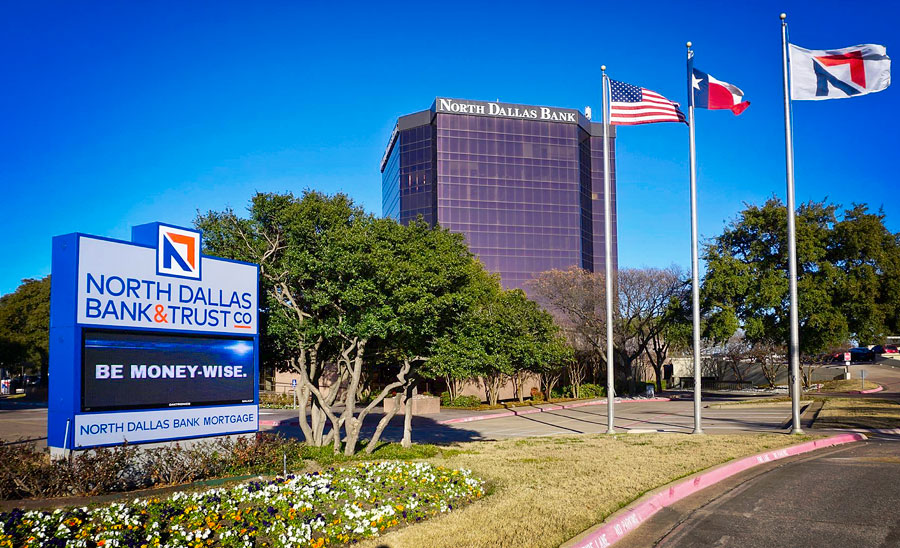 North Dallas Bank & Trust today
