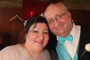 Cynthia and Sam Wedding Photo Button