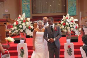 Tiffani and Tristan Wedding Button Photo