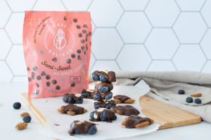 Chocolate & Blueberry Almond Clusters