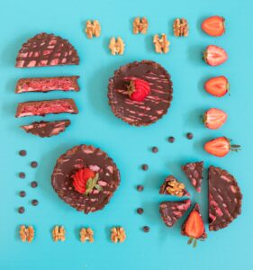 Strawberry Chocolate Tarts