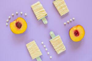 Peach & White Chocolate Creamsicles