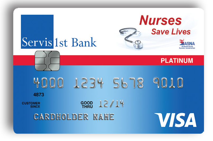 Nurses Visa Card