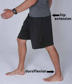Ankle stiffness can cause back pain