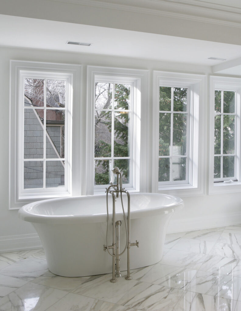 Interior of the new Large bathroom.