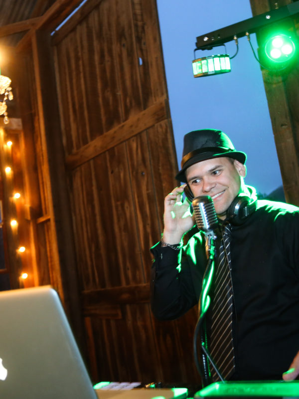 DJ Anthony wedding DJ, school dance, prom, homecoming, corporate DJ, emcee, mc, party, Epic Entertainment pismo beach, atascadero, paso robles, santa maria, santa ynez, Dana Powers barn Nipomo, CA