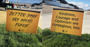 Wyoming Signs that Say Better Days Are Ahead