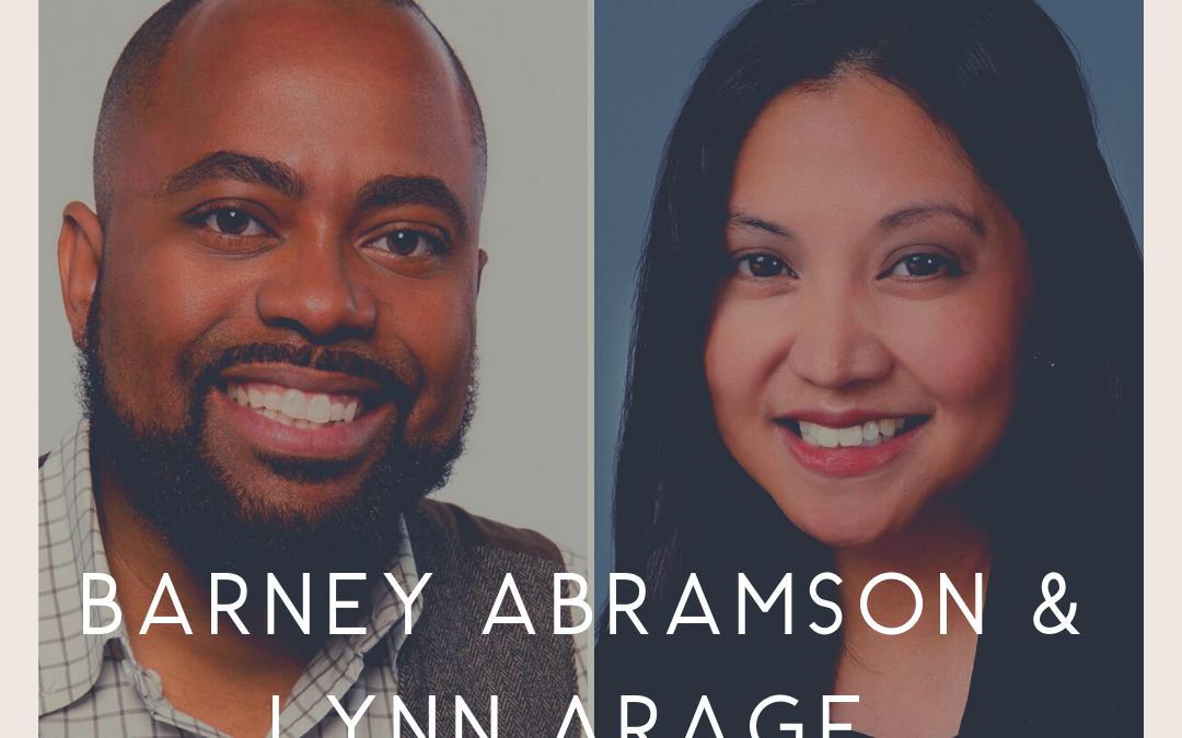 Barney Abramson and Lynn Arage