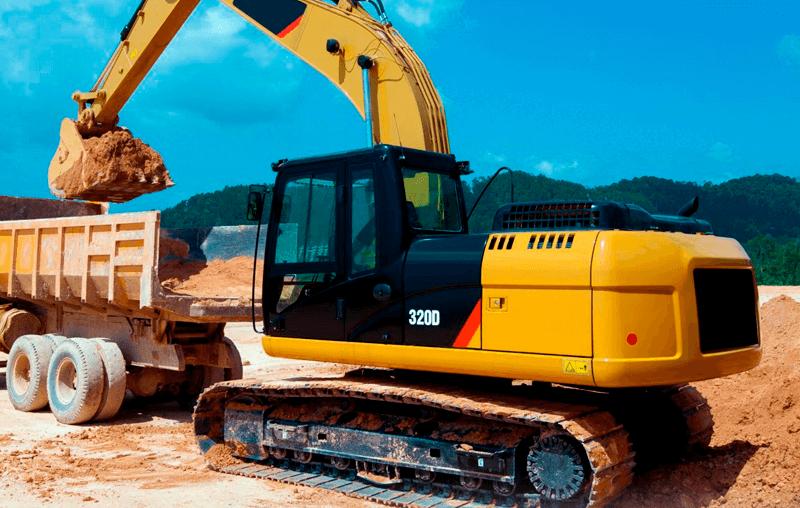 Escavadeira 320D