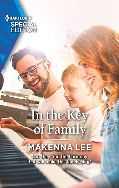 New Book: In the Key of Family is HERE! 😅💖📚