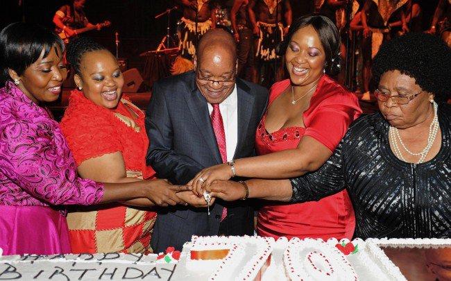 Jacob Zuma and wives