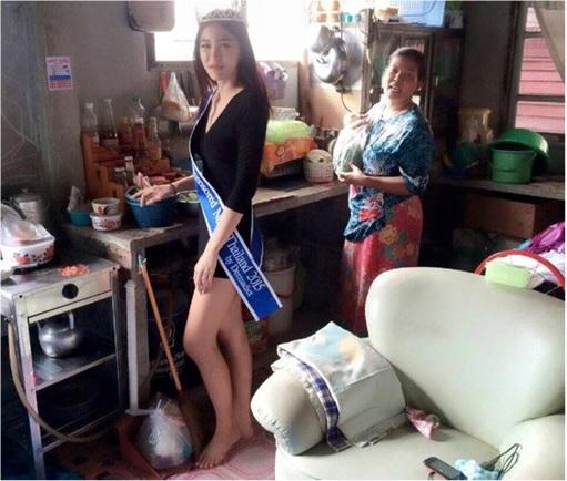 """Miss Thailand 2015, Khanittha """"Mint"""" Phasaeng2"""